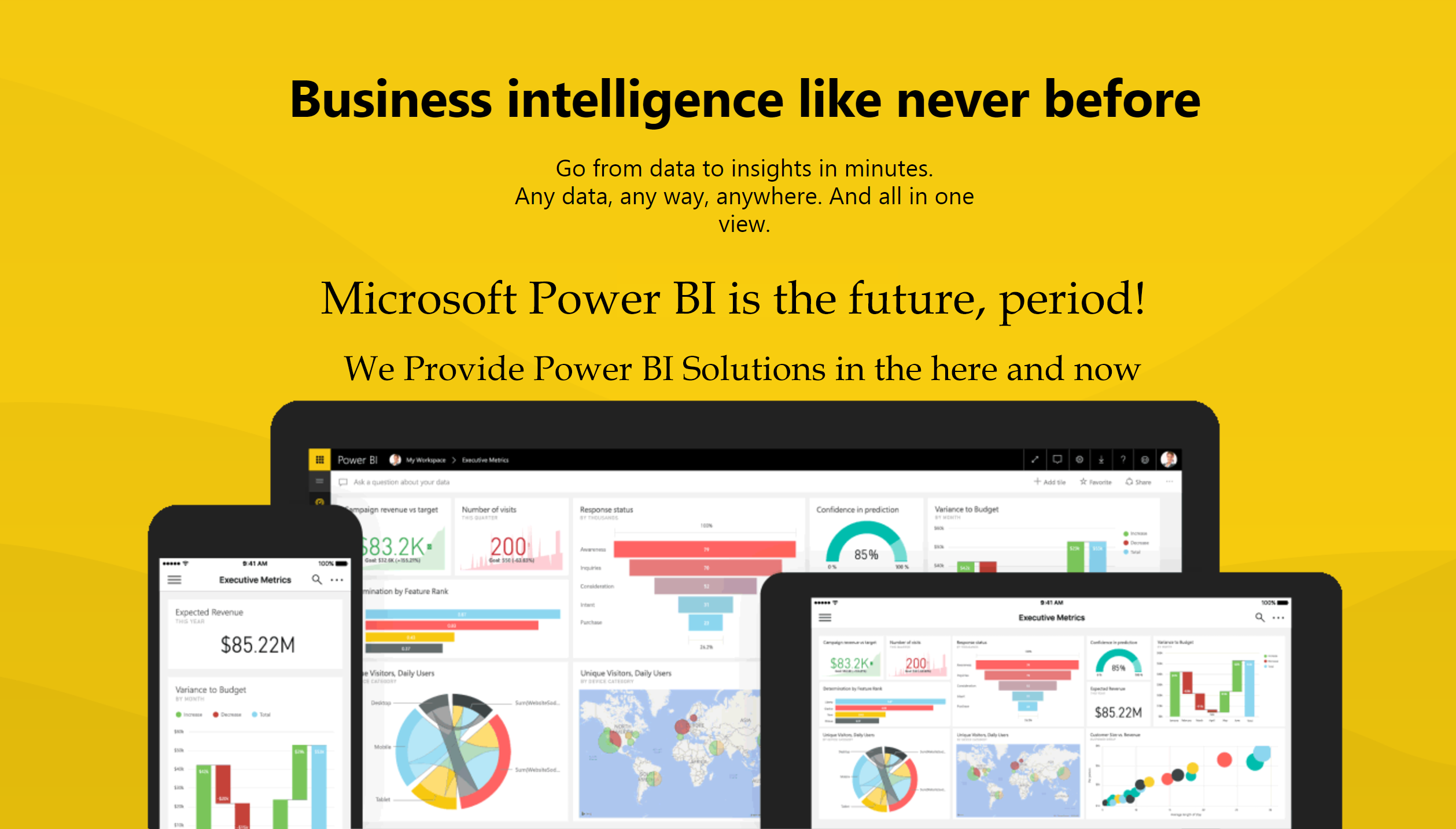 Microsoft Power BI Makes Your Data Accessible