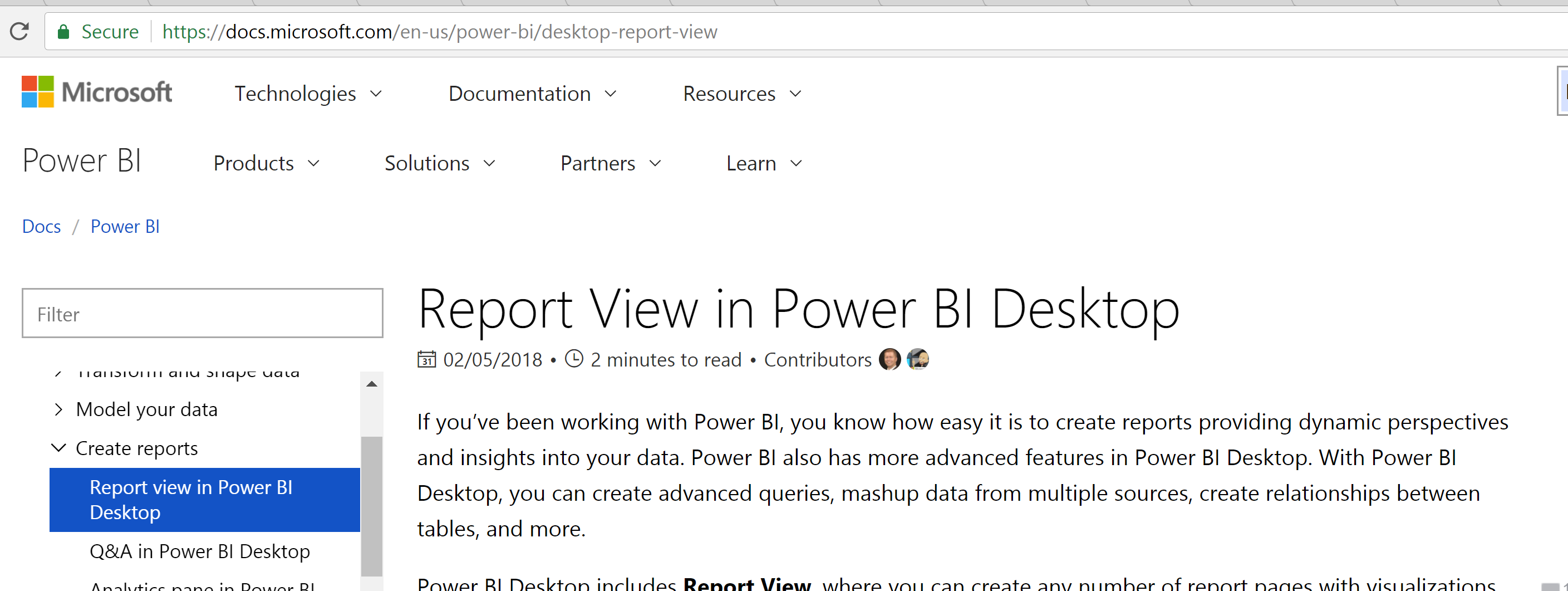 Microsoft Power BI comes chalk full of reporting features.