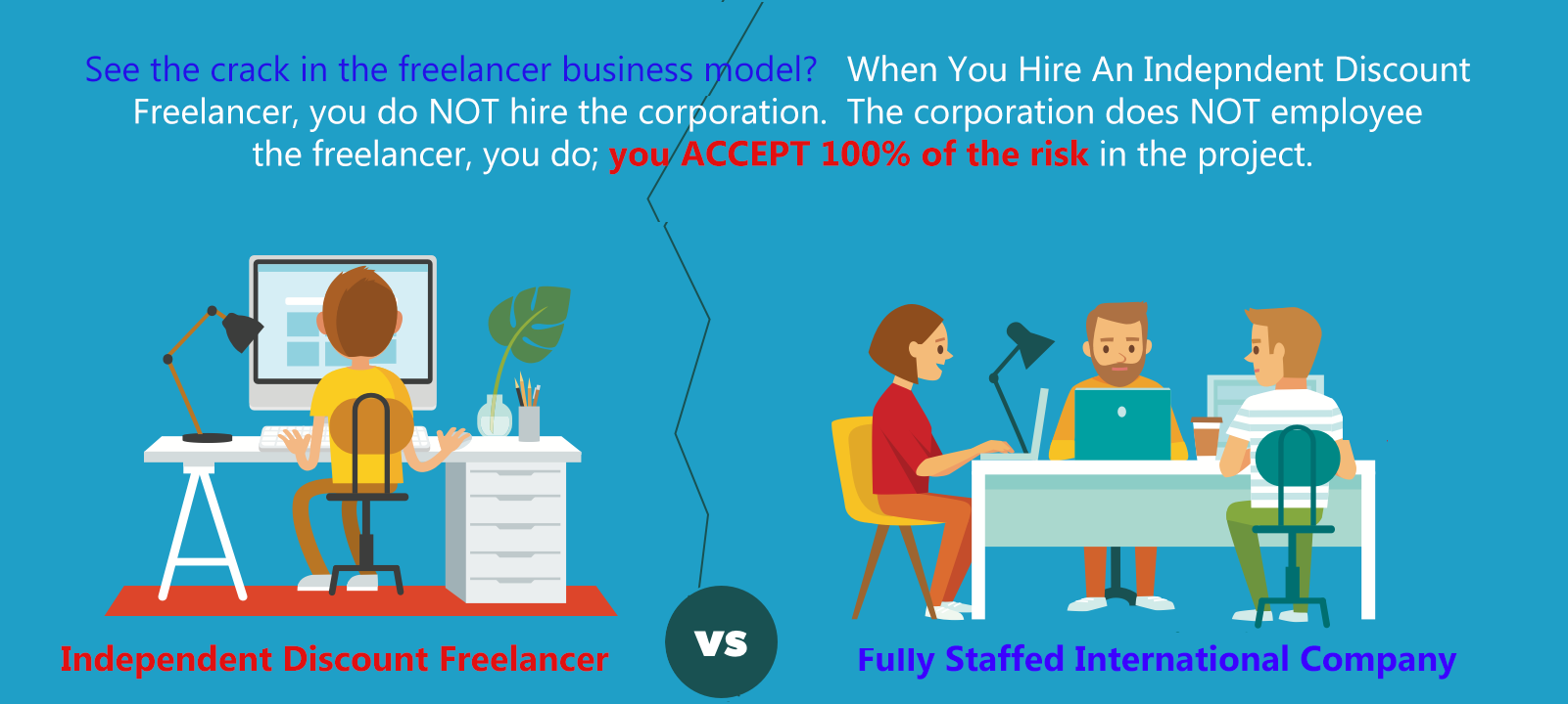 Avoid Discount Freelancers Hire a Corporation