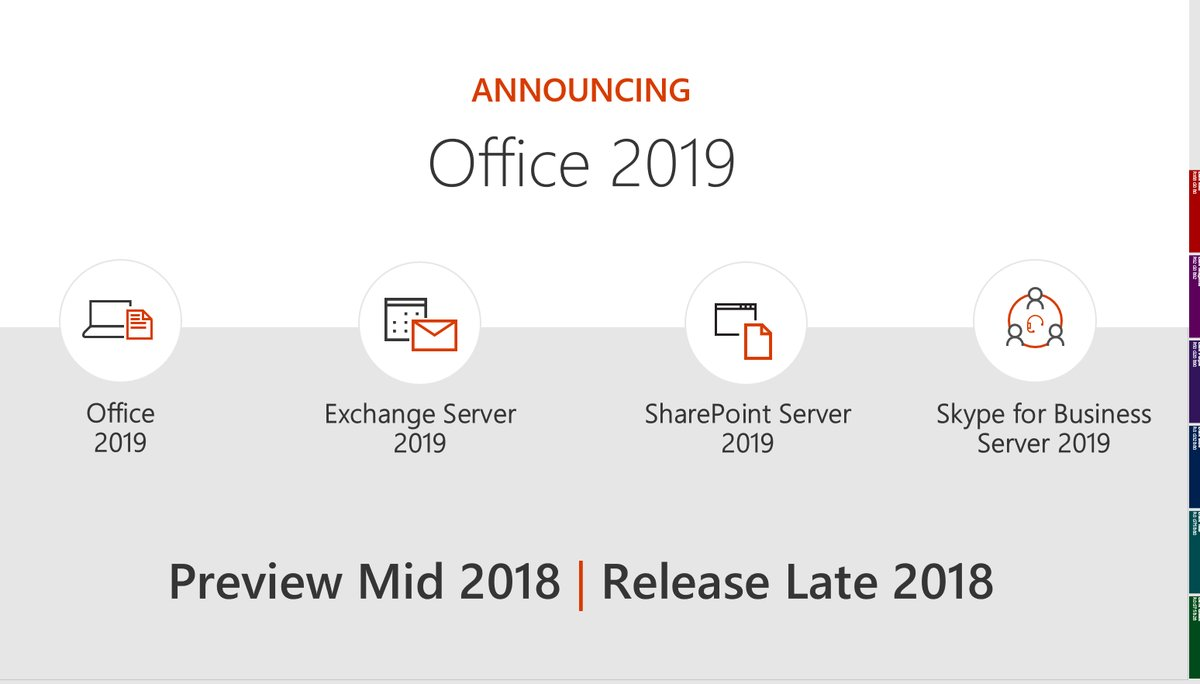 Microsoft Access 2019 is on the way.