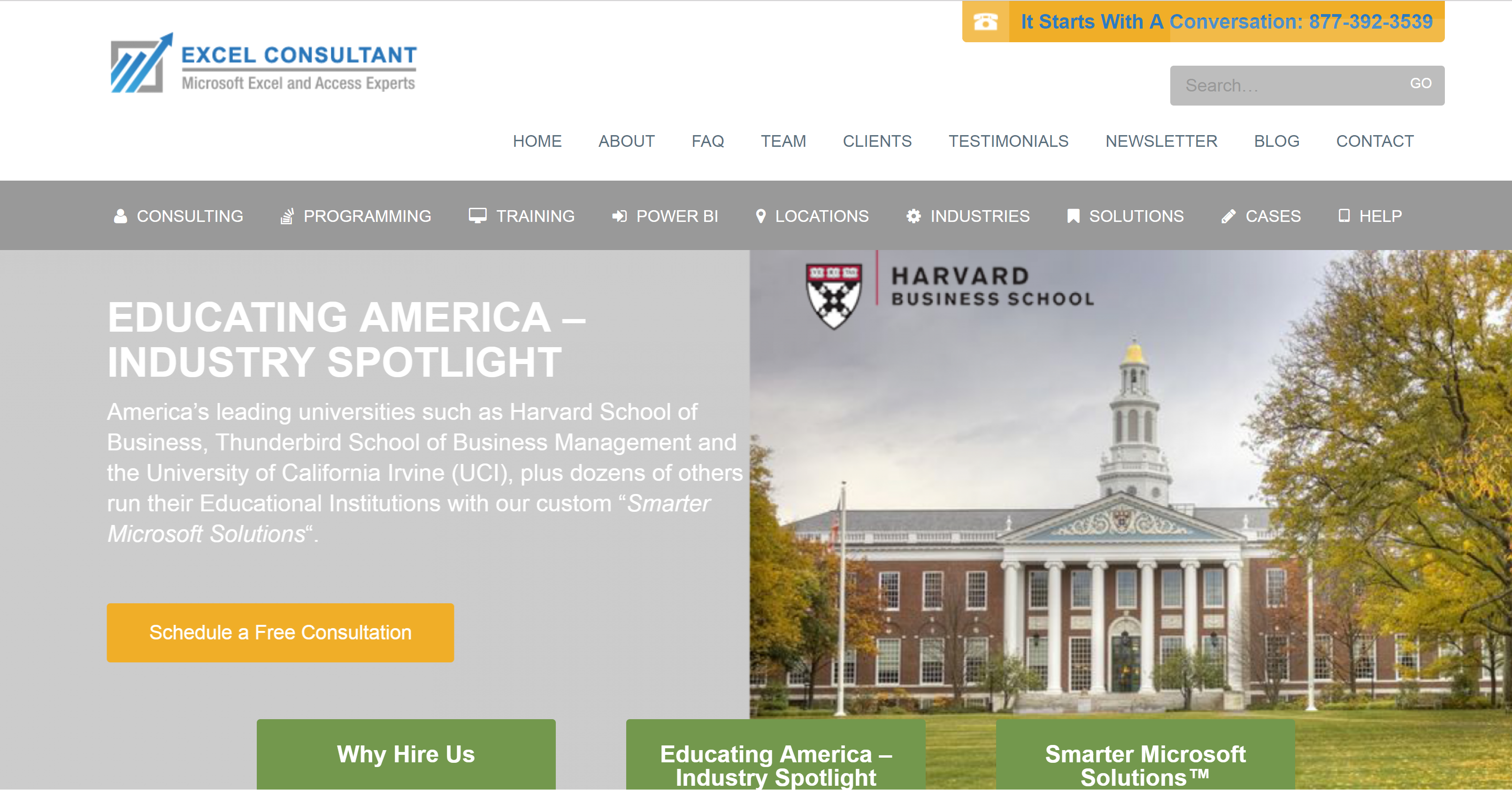 Harvard School of Business hires the Smarter Microsoft Solutions Provider