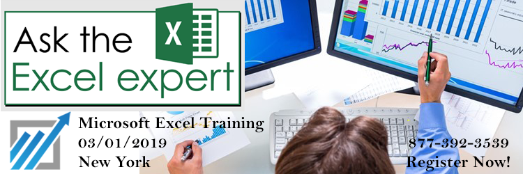Ask the Microsoft Excel expert