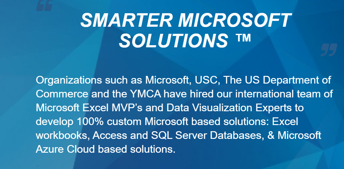 The home of the 5-Star Advantage and our Smarter Microsoft Solutions